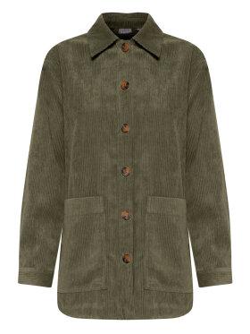 FRANSA - Fransa jakke/skjorte army