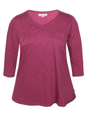 Zhenzi - Zhenzi T-shirt 3/4 Blomme