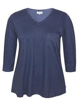 Zhenzi - Zhenzi T-Shirt 3/4 Blå