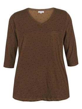 Zhenzi - Zhenzi T-shirt 3/4 Brun