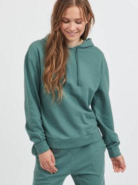 VILA - Vila Hoodie grøn