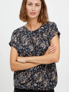 FRANSA - Fransa T-shirt Blå mix