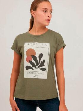FRANSA - Fransa T-shirt Grøn