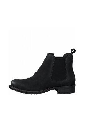 Tamaris - Tamaris støvle black nubuc