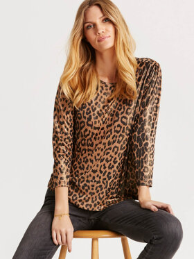iN FRONT - In Front Bluse Leopard