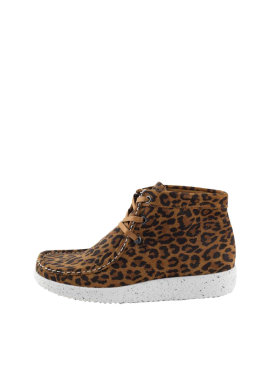Nature Footwear - Nature Emma suede leopard