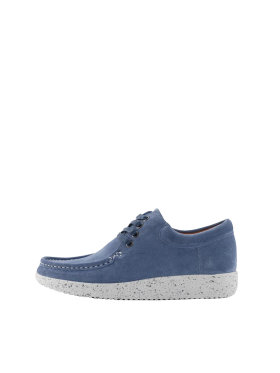 Nature Footwear - Nature Anna suede -Nordic blue