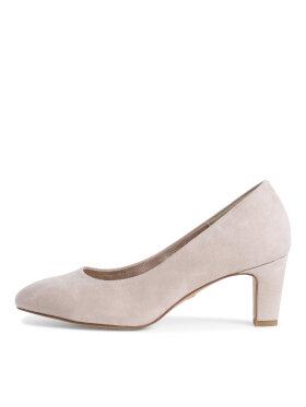 Tamaris - Tamaris høje sko Ivory