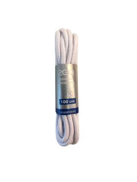 2GO - 2GO snørebånd hvid 100 cm