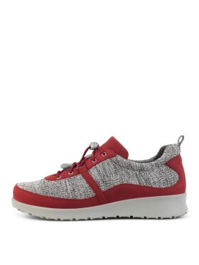New Feet - New feet sneakers knit rød