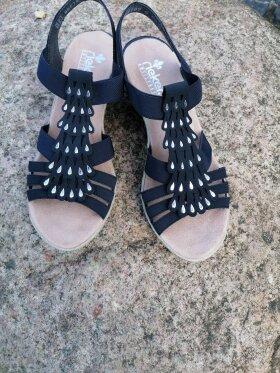 Rieker - Rieker sandal blå