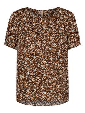 Soyaconcept  - Soyaconcept t-shirt brun mix