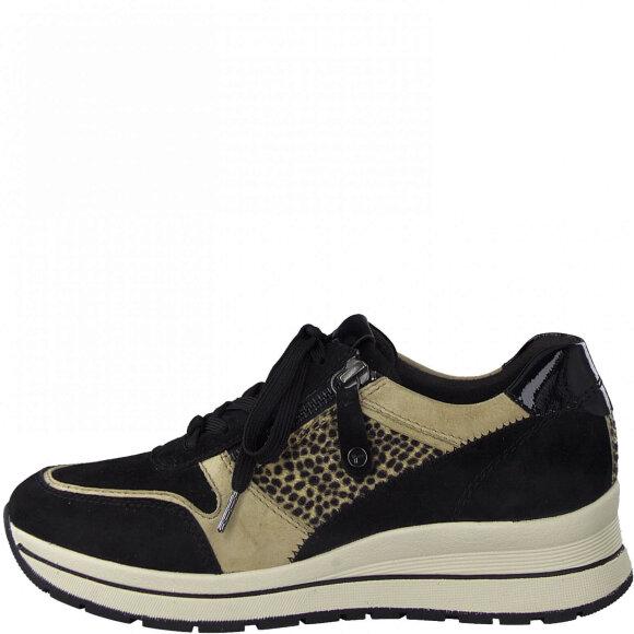 Tamaris - Tamaris sneakers black comb