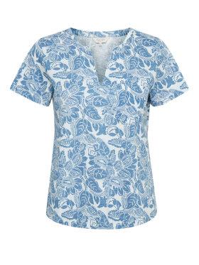 Part Two - Part Two T-shirt Blå/Hvid